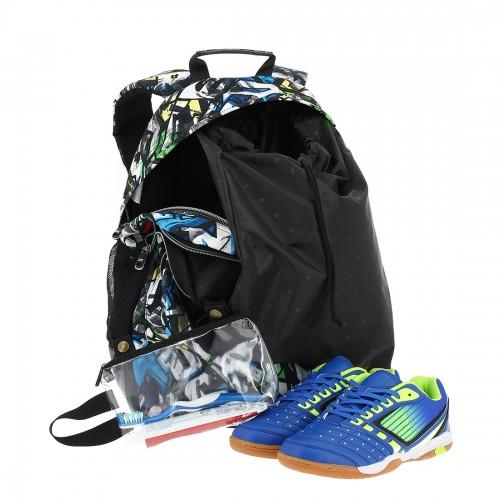 crayoles 3sd con  bolsa zapatos y bolsa de aseo extraíble