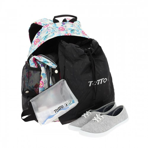 crayoles 3sg con  bolsa zapatos y bolsa de aseo extraíble