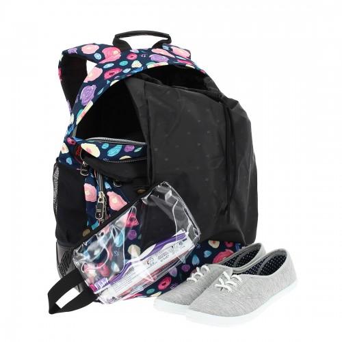 crayoles 6lq  con  bolsa zapatos y bolsa de aseo extraíble