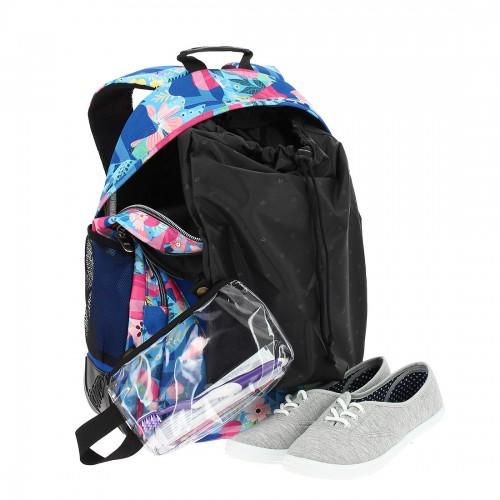 crayoles 6ls  con  bolsa zapatos y bolsa de aseo extraíble