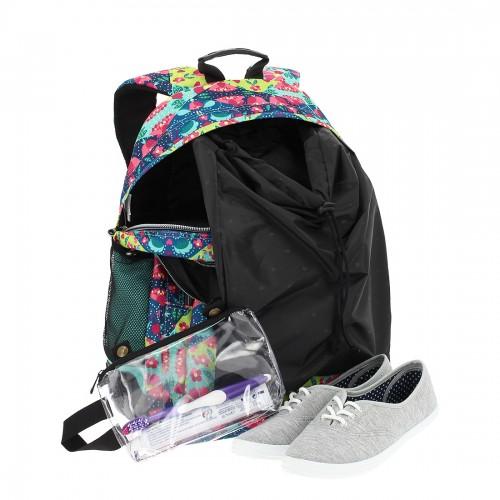 crayoles 6lt   con  bolsa zapatos y bolsa de aseo extraíble