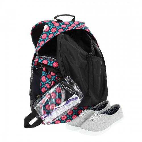crayoles  6lu  con  bolsa zapatos y bolsa de aseo extraíble
