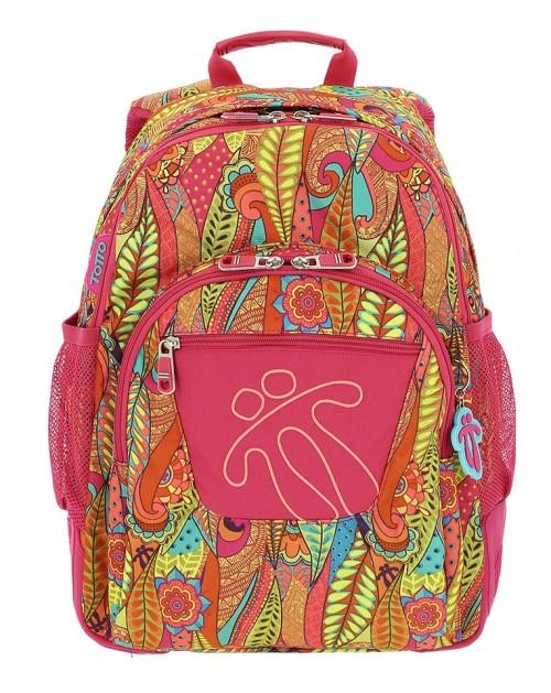 mochila reforzada totto crayoles 8v9