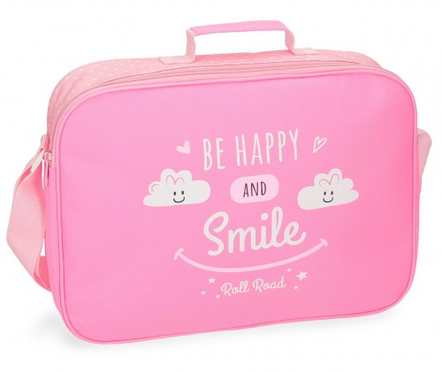4325361 cartera extraescolar roll road happy rosa