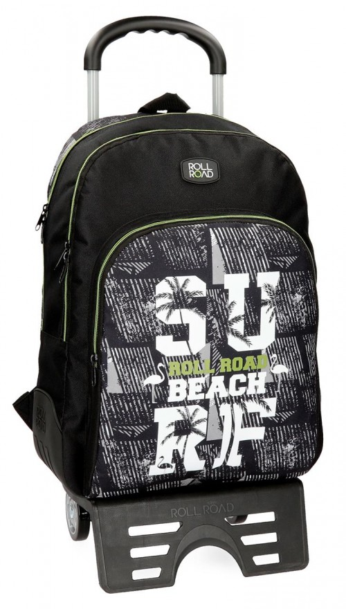 43326N1 mochila doble con carro Roll Road Surf