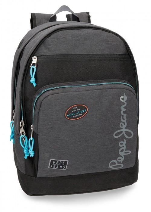 6112461 mochila adaptable doble cuerpo pepe jeans teo