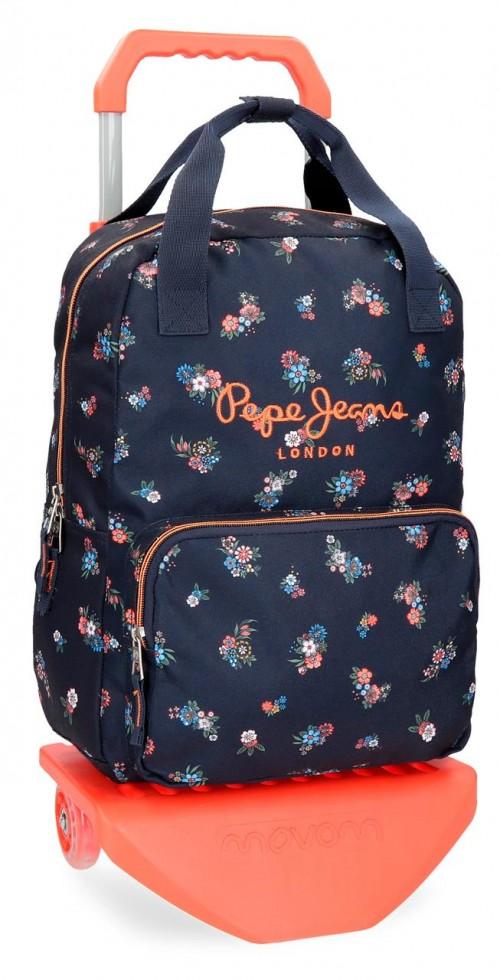 61422N1 mochila carro pepe jeans sira
