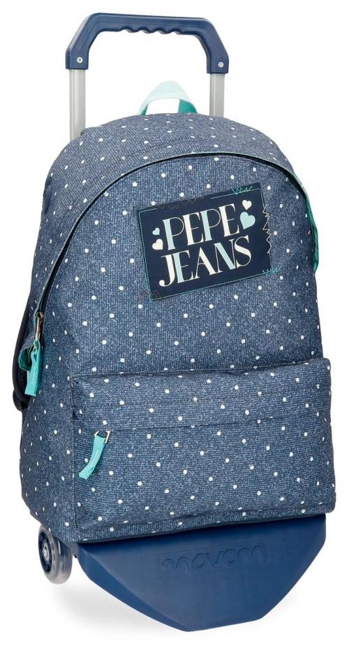 61523N1 mochila con carro pepe jeans olaia
