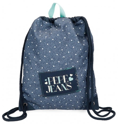 6153861 gym sac pepe jeans olaia azul