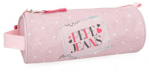 6154162 portatodo redondo pepe jeans olaia rosa