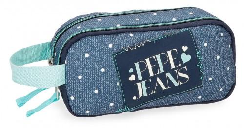 6154261 portatodo doble pepe jeans olaia azul