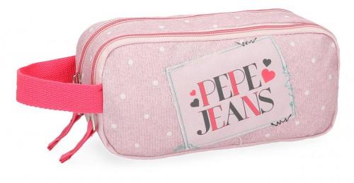 6154262 portatodo doble pepe jeans olaia rosa