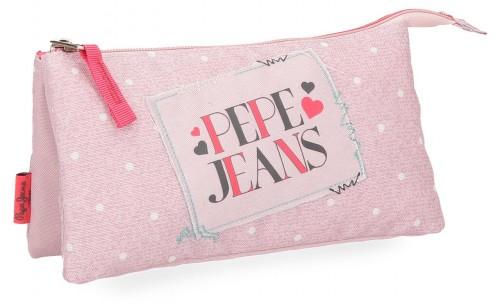 6154362 portatodo triple pepe jeans olaia rosa