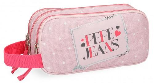 6154762 portatodo triple pepe jeans olaia rosa