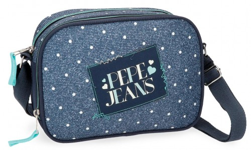 6155961 bolso bandolera pepe jeans olaia azul