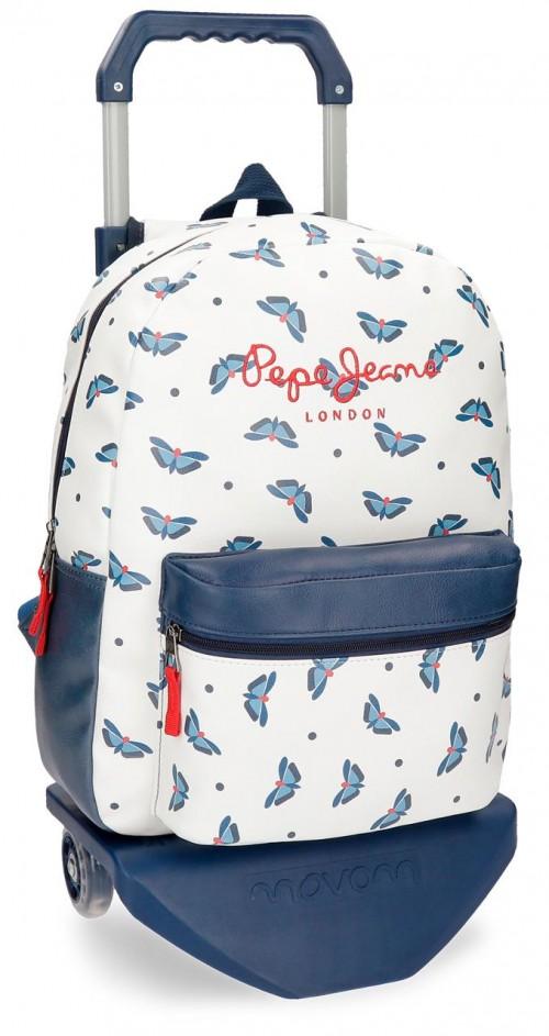 61623N1 mochila con carro pepe jeans feli