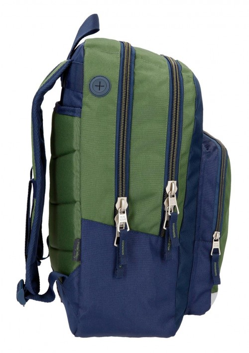 6182461 mochila doble adaptable pepe jeans joss6182461  lateral