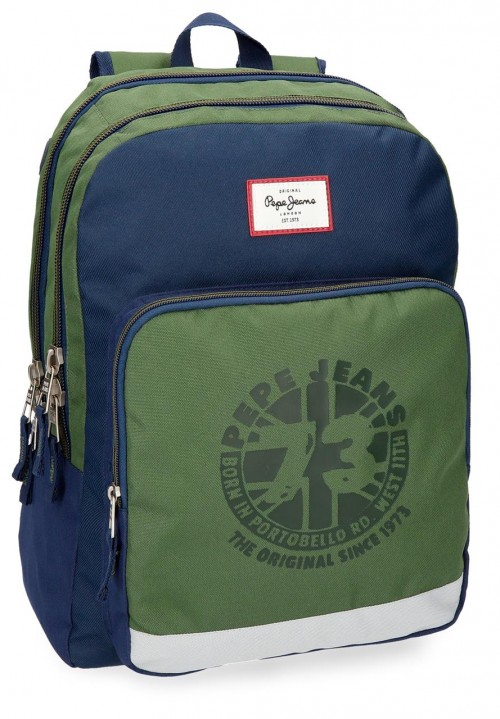 61824B1 mochila doble compartimento adaptable de Pepe Jeans Joss