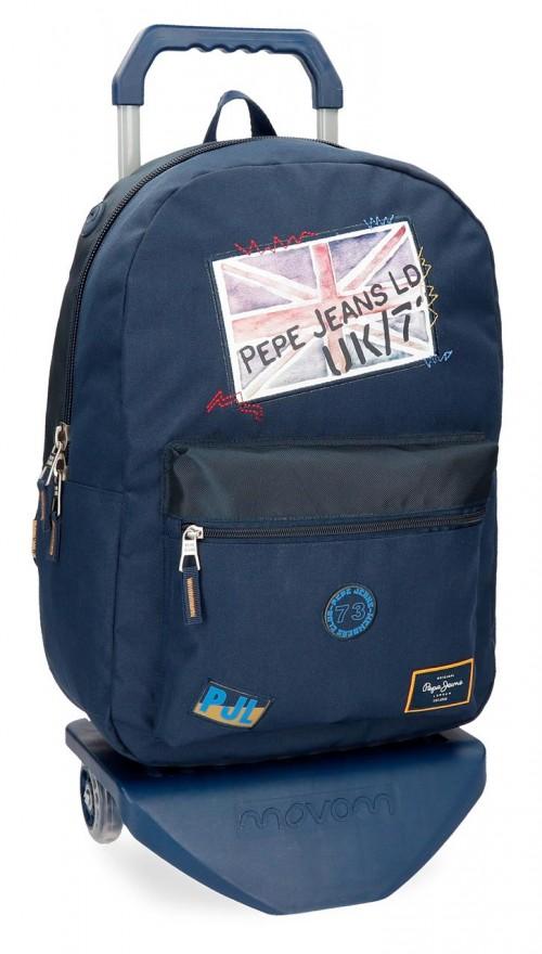 61923N1 mochila con carro pepe jeans scarf