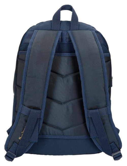 6192561 mochila doble adaptable pepe jeans scarf trasera