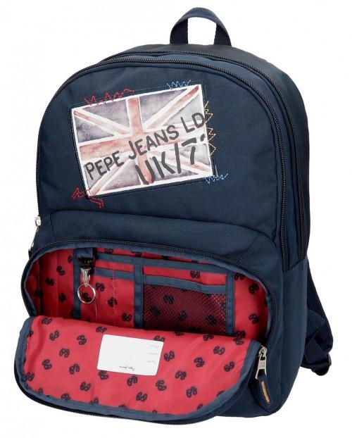 6192561 mochila doble adaptable pepe jeans scarf interior