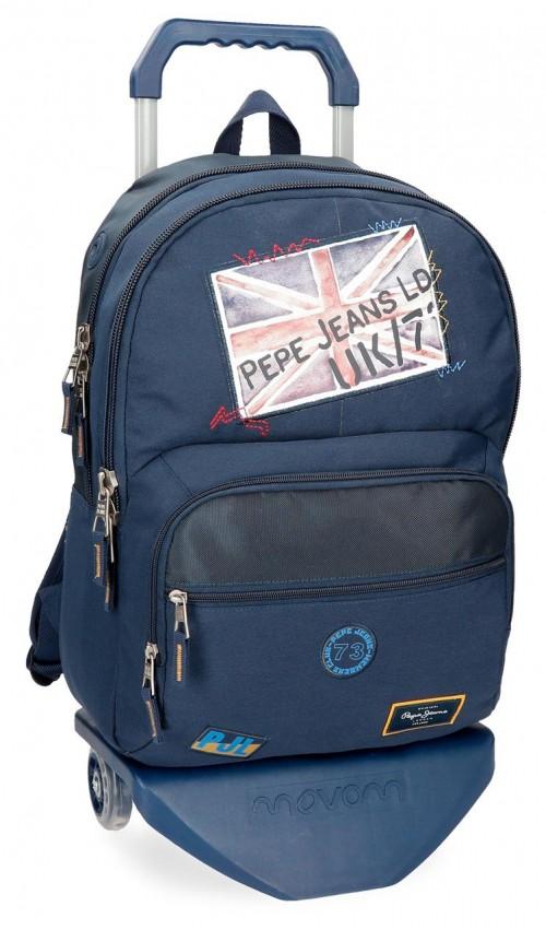 61925N1 mochila con carro doble pepe jeans scarf