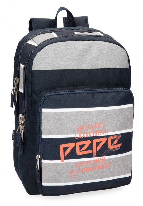 62124B1 mochila doble adaptable pepe jeans pierre