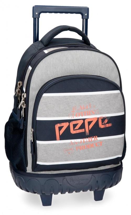 6212961 mochila compacta reforzada pepe jeans pierre