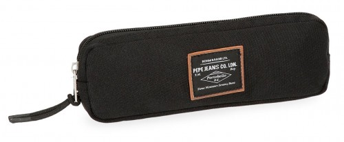 6224061 estuche estrecho pepe jeans cross negro