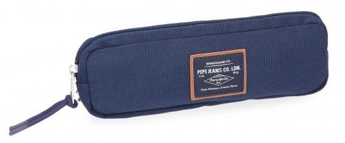 6224062  estuche estrecho pepe jeans cross azul