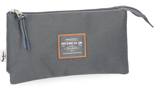 6224365 portatodo triple pepe jeans cross gris