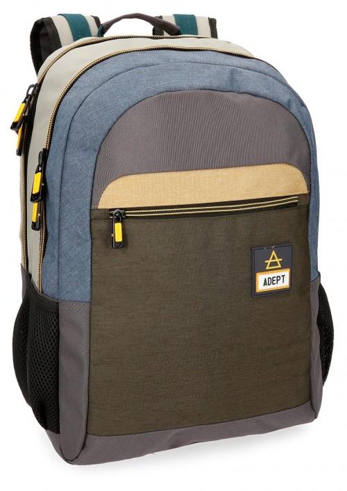 90825B1 mochila adaptable portaordenador adept camper