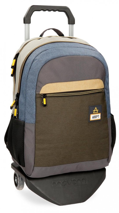 90825N1 mochila portaordenador con carro adept camper