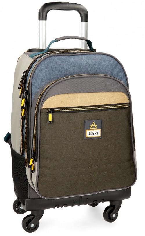 9082861 mochila 4 ruedas adept camper