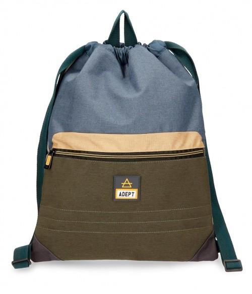 9083861 gym sac con cremallera adept camper