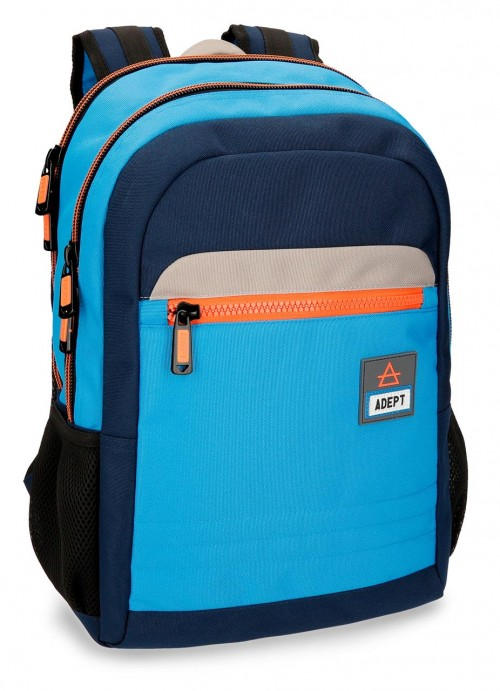 90925B1 mochila doble portaordenador adept power