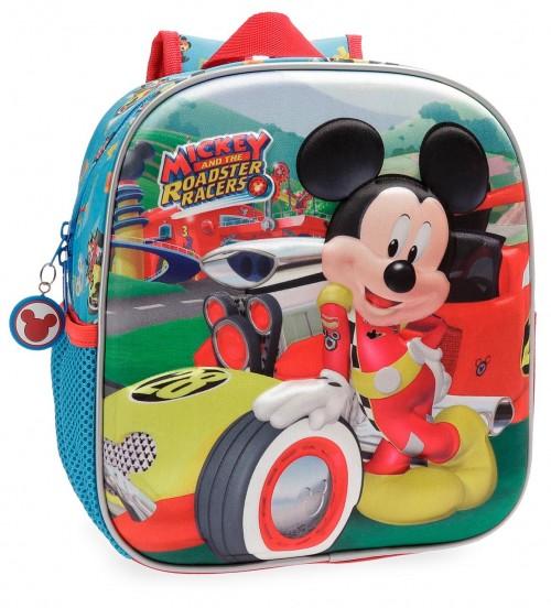 2222061 Mochila 25 cm Mickey roadster racers