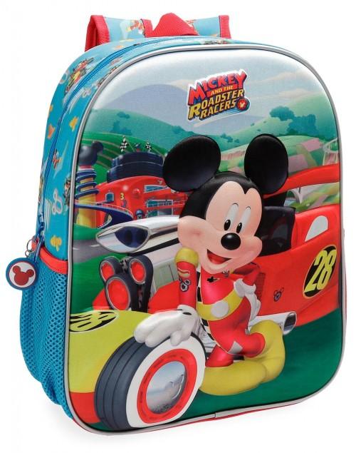 2222261 mochila 33 cm mickey roadster racers
