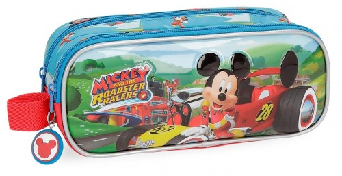 2224261 portatodo doble mickey roadster racers
