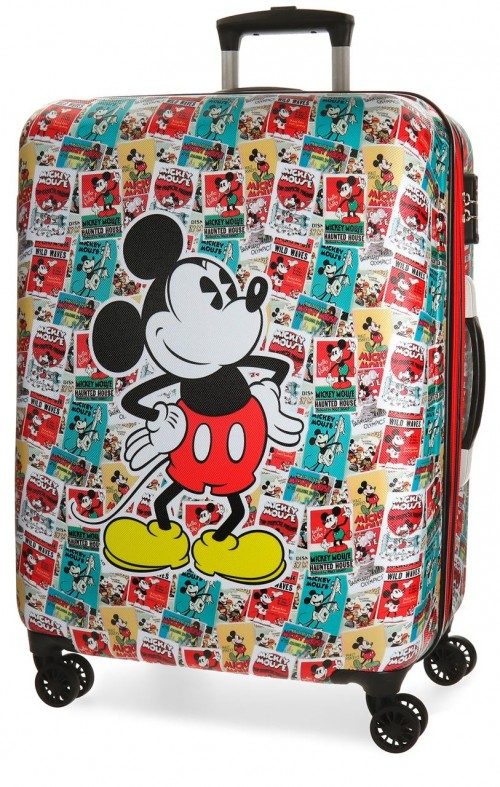3331861 maleta mediana 4 ruedas mickey posters