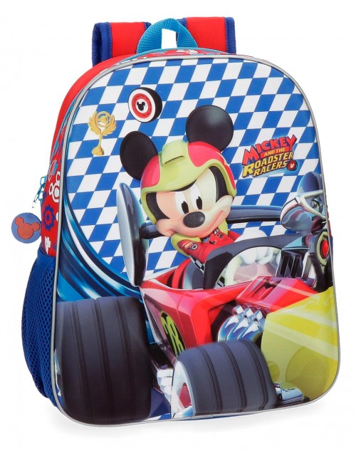 42822B1 mochila adaptable 33 cm mickey race