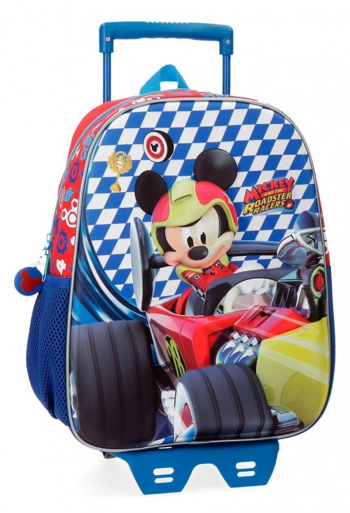 42822N1 mochila carro 33 cm mickey race