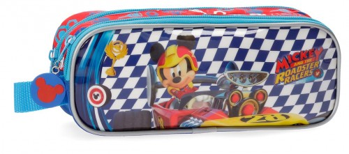 4284261 portatodo doble compartimento mickey race