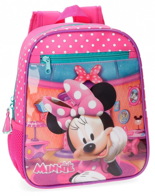 42921B1 mochila adaptable 28 cm minnie smile
