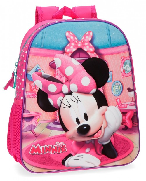 42922B1 mochila adaptable 33 cm minnie smile