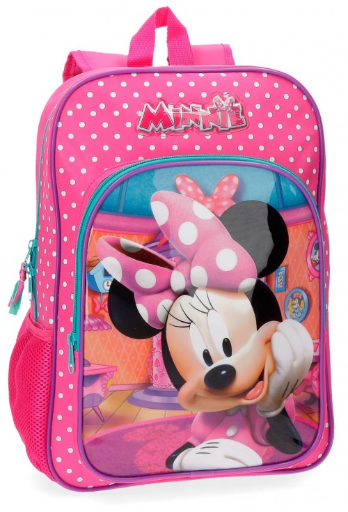 42923B1 mochila adaptable 38 cm minnie smile