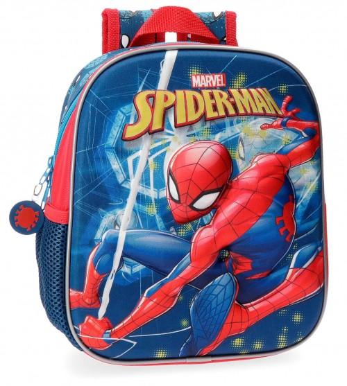 4312061 mochila 25 cm spiderman neo