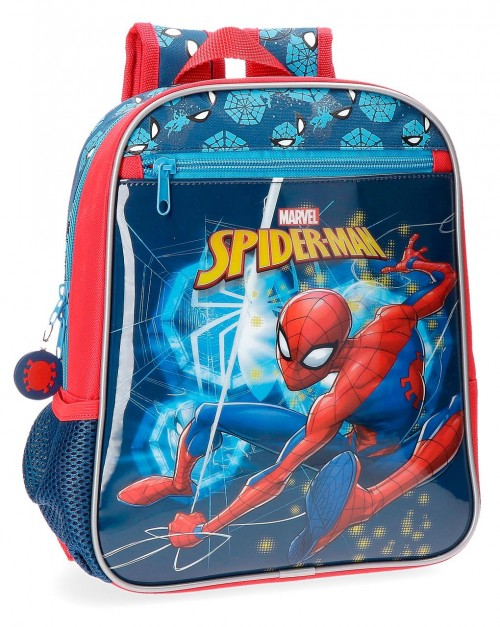 4312161 mochila 28 cm spiderman neo