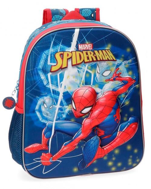 4312261 mochila 33 cm spiderman neo