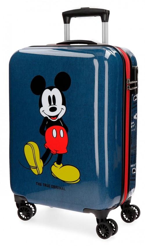 4371761 maleta de cabina 4 ruedas mickey blue
